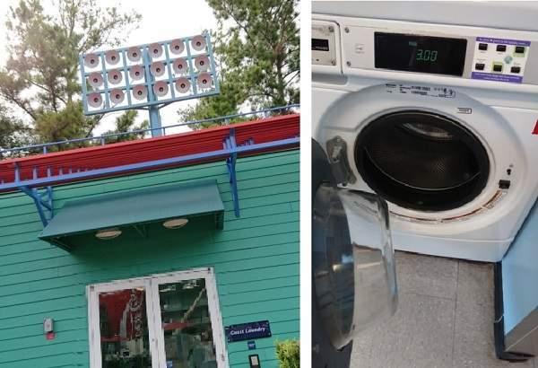 オールスタースポーツリゾートの洗濯コーナー