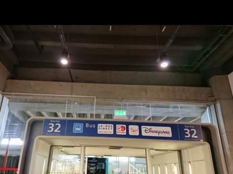 シャルルドゴール空港32番出口