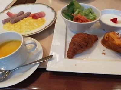 浦安ブライトンホテルの朝食