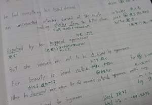 ディズニーで英語を勉強するノート