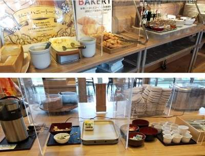 三井ガーデンホテルプラナ東京ベイの朝食ビュッフェ