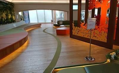 三井ガーデンホテルプラナ東京ベイのロビー