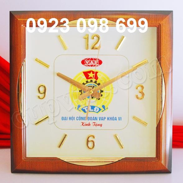 Cơ sở sản xuất đông hô treo tường, bán đồng hồ sự kiện, làm đồng hồ in logo