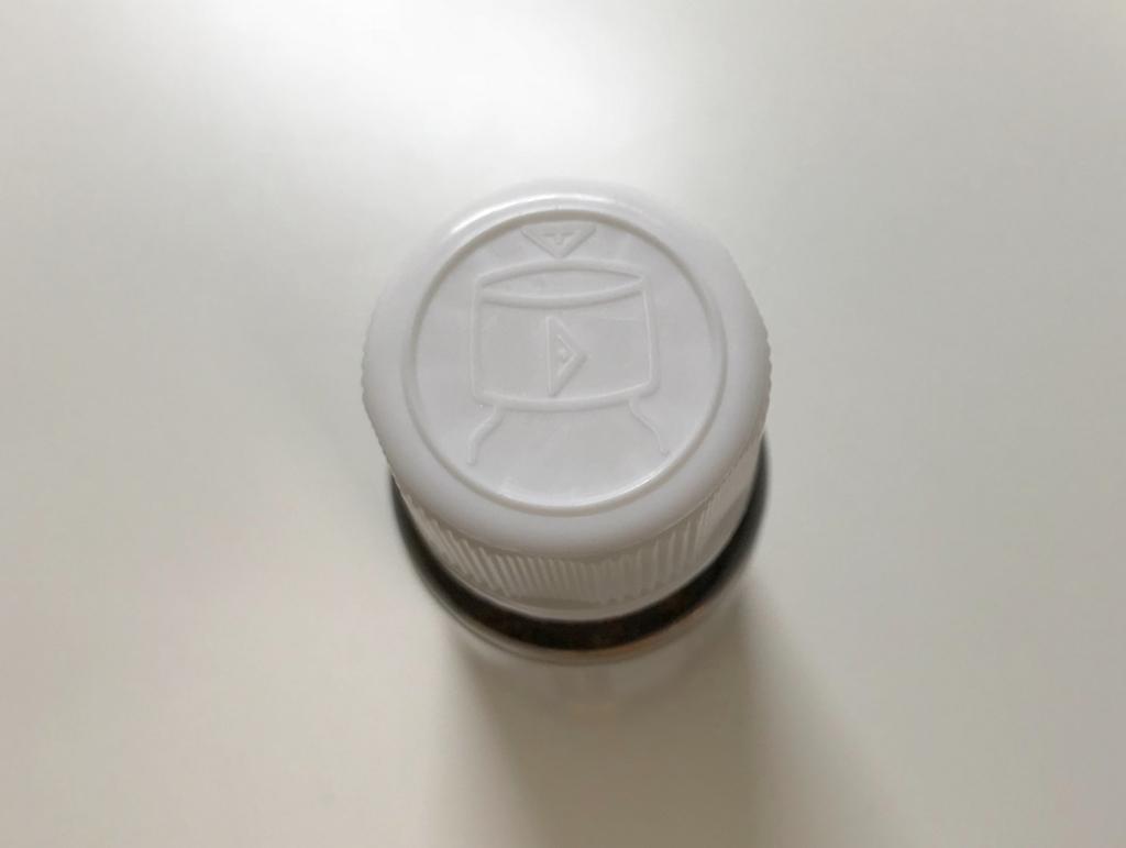 アトピカ内用液のスクリューキャップ