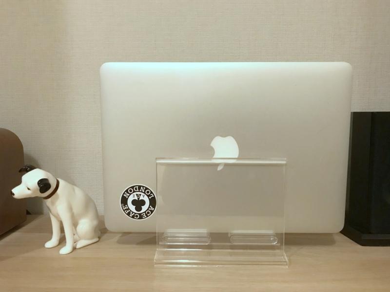 カタログ・メニュースタンド(大)とMacBook Air