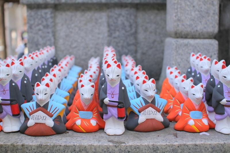 伏見稲荷山『荒木神社』口入人形