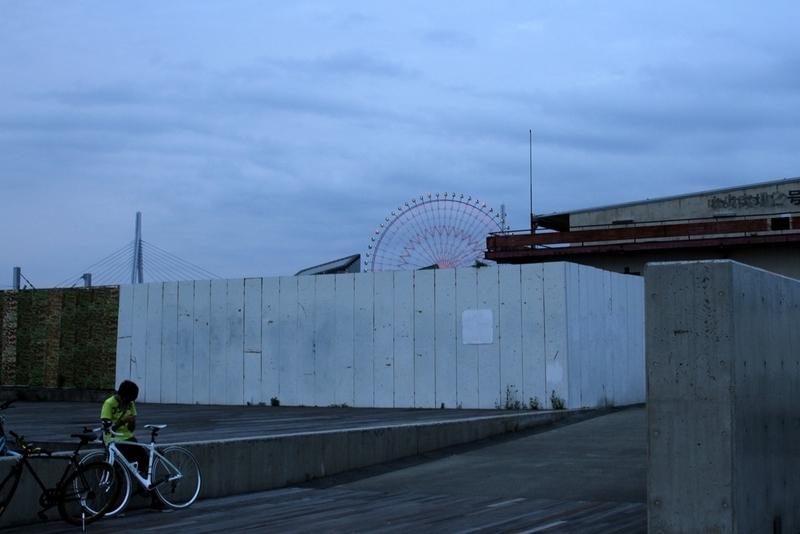 大阪港で夕陽が一番美しい場所・天保山ダイヤモンドポイント