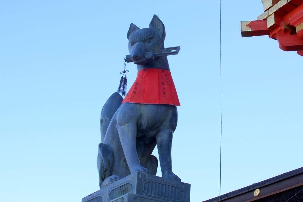 伏見稲荷狛狐