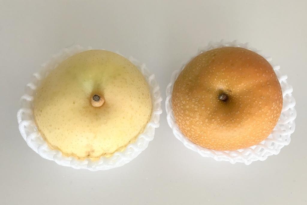 二十世紀梨とホウナン
