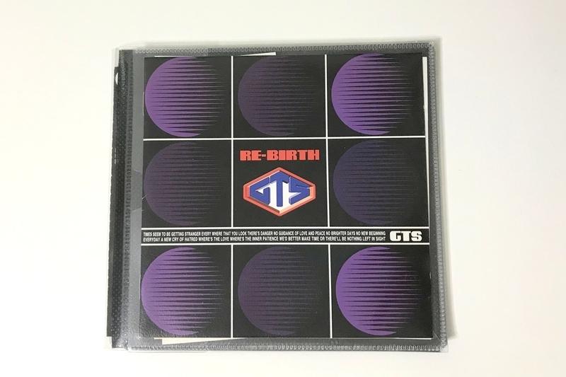 CD用スリム収納ソフトケース2枚収納