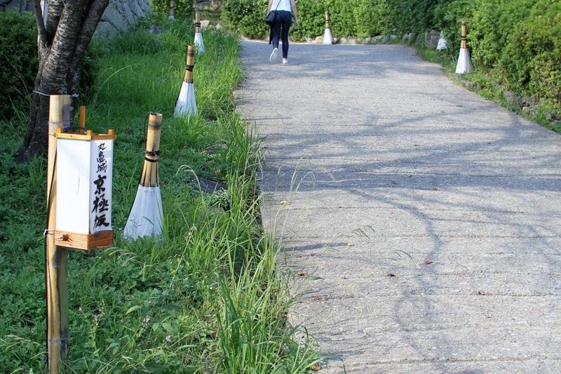 丸亀城京極坂