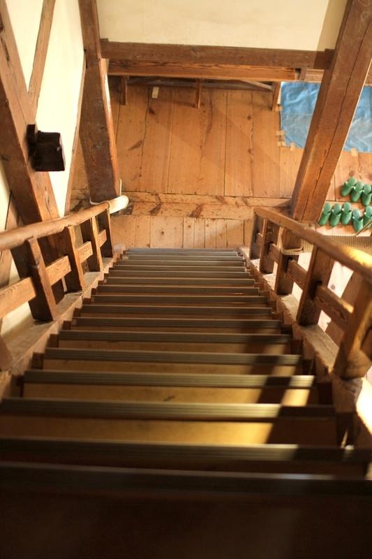 丸亀城階段
