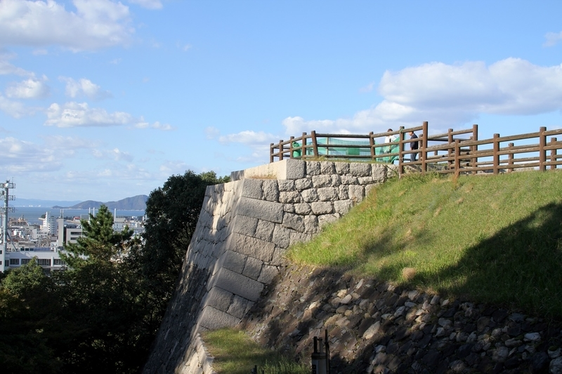 丸亀城櫓跡