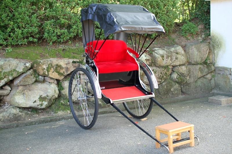 丸亀城人力車