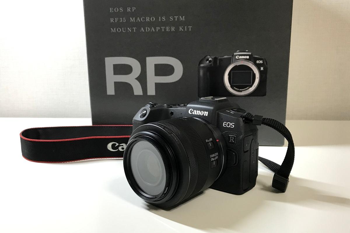 フルサイズミラーレス『Canon EOS RP』を購入!初めてカメラを買う時に必要なもの一覧