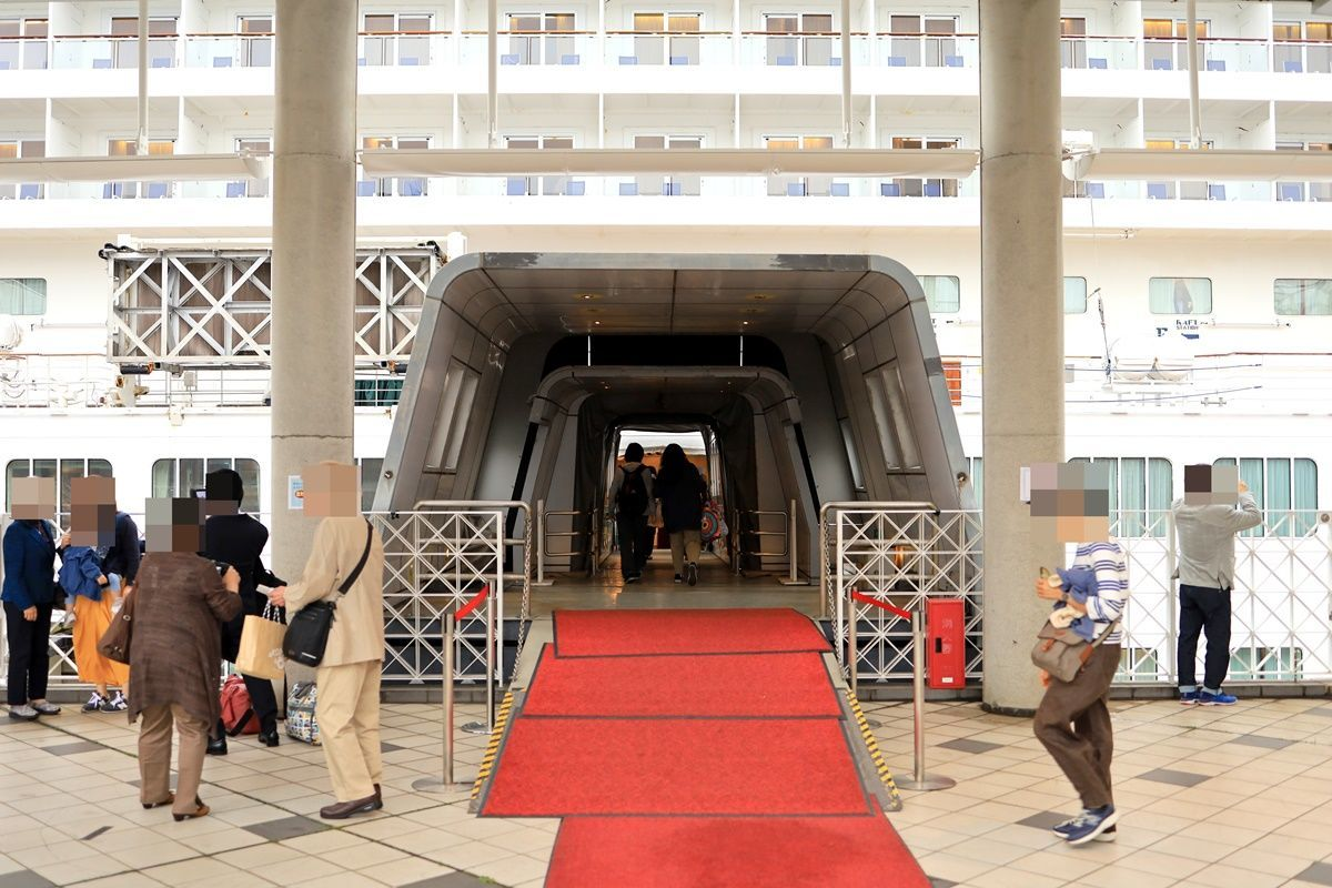 【飛鳥Ⅱ 乗船記④乗船1日目】2019年ゴールデンウィーク サイパン・グアムクルーズ 10泊11日