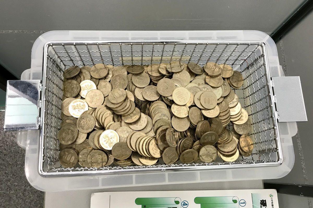 500円玉貯金を開封!銀行での両替・入金の方法