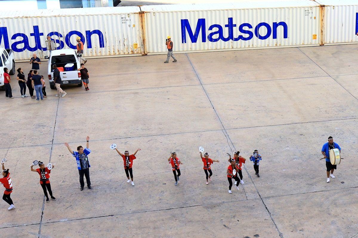 【飛鳥Ⅱ 乗船記⑧乗船5日目】2019年ゴールデンウィーク サイパン・グアムクルーズ 10泊11日 阿波踊り