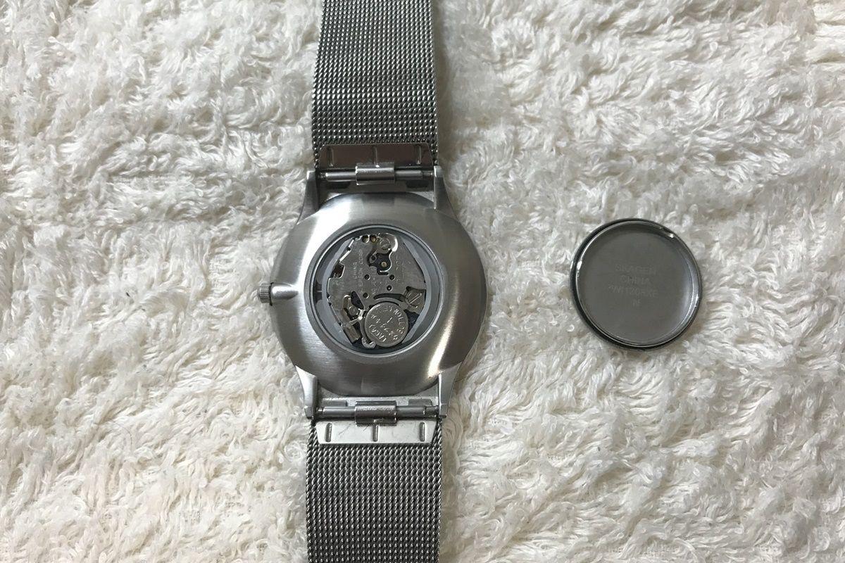 自分で腕時計の電池交換をする方法
