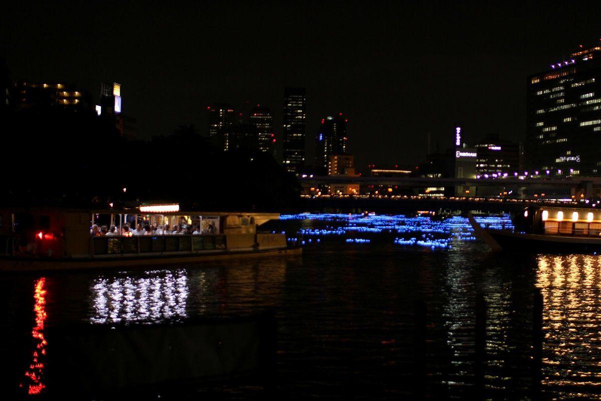 【大阪・天満橋】七夕の夜は『OSAKA天の川伝説』でデートがオススメ!