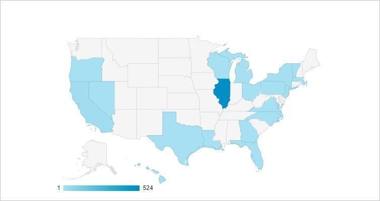 【Google Analytics】シカゴから謎のアクセス!正体はマイクロソフトのロボットでした