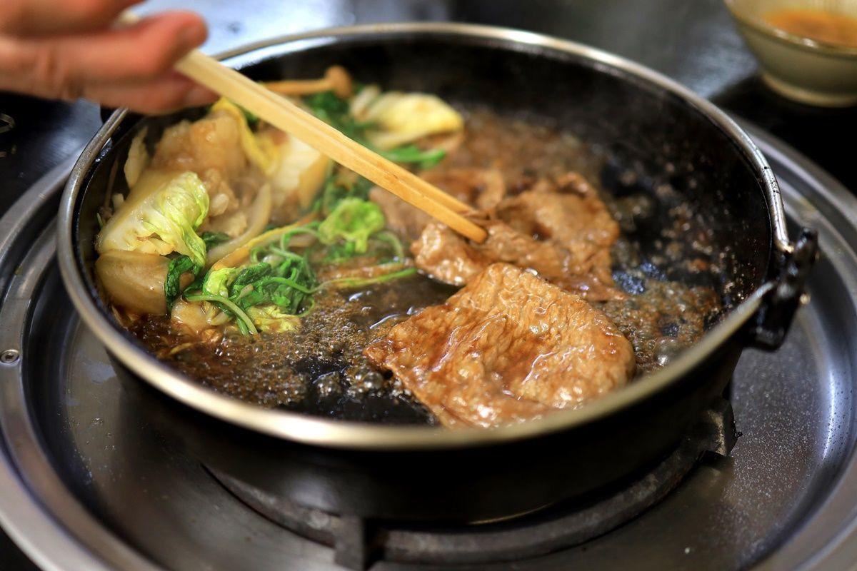 【大阪・毛馬】ミシュランに載ったしゃぶしゃぶ店『やすだ』ですき焼きを食べました