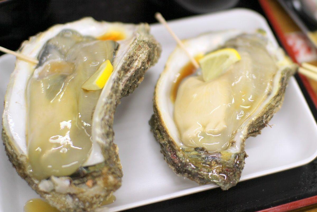 【京都・舞鶴】道の駅『舞鶴港とれとれセンター』で岩牡蠣を食す