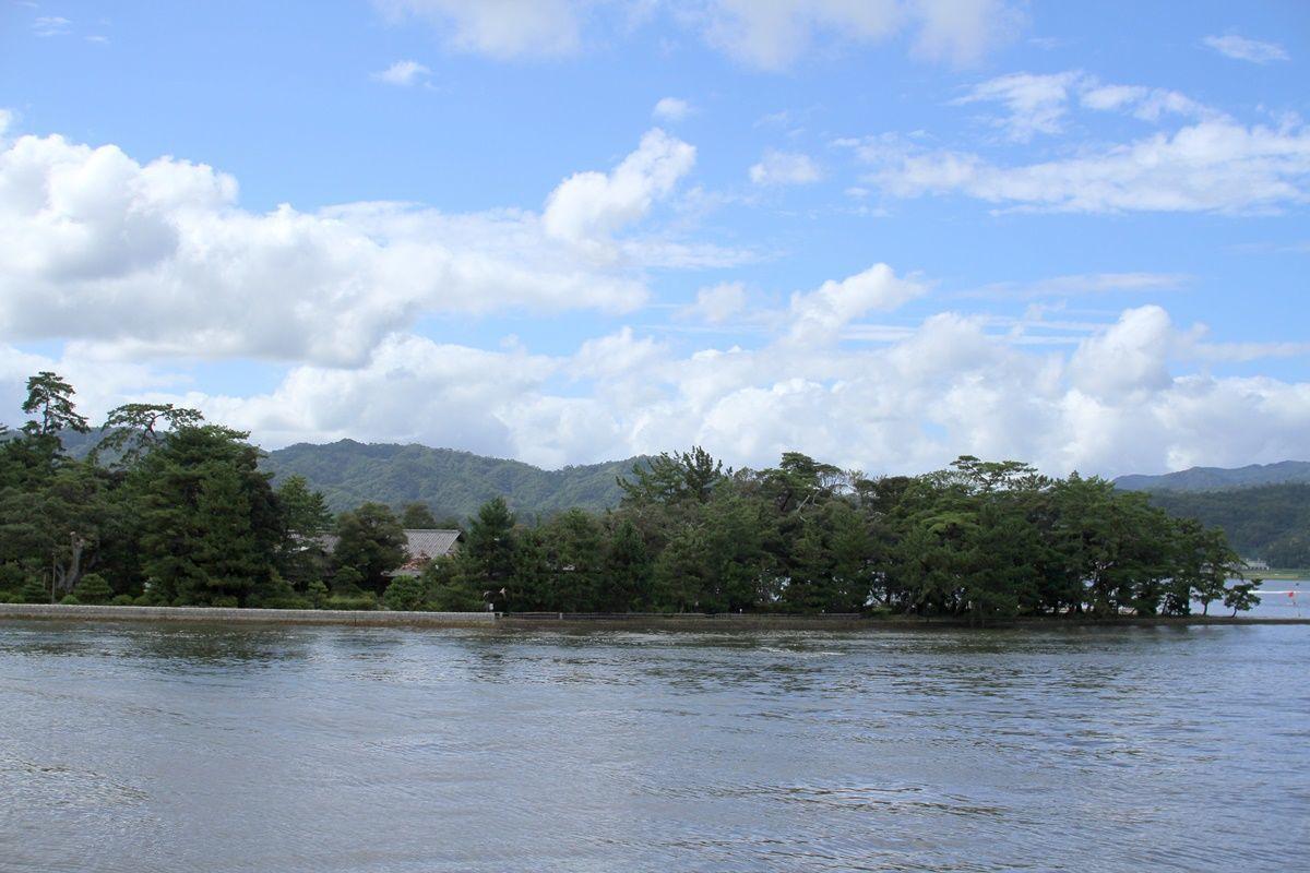 【京都】日本三景『天橋立』を眺めて上陸する