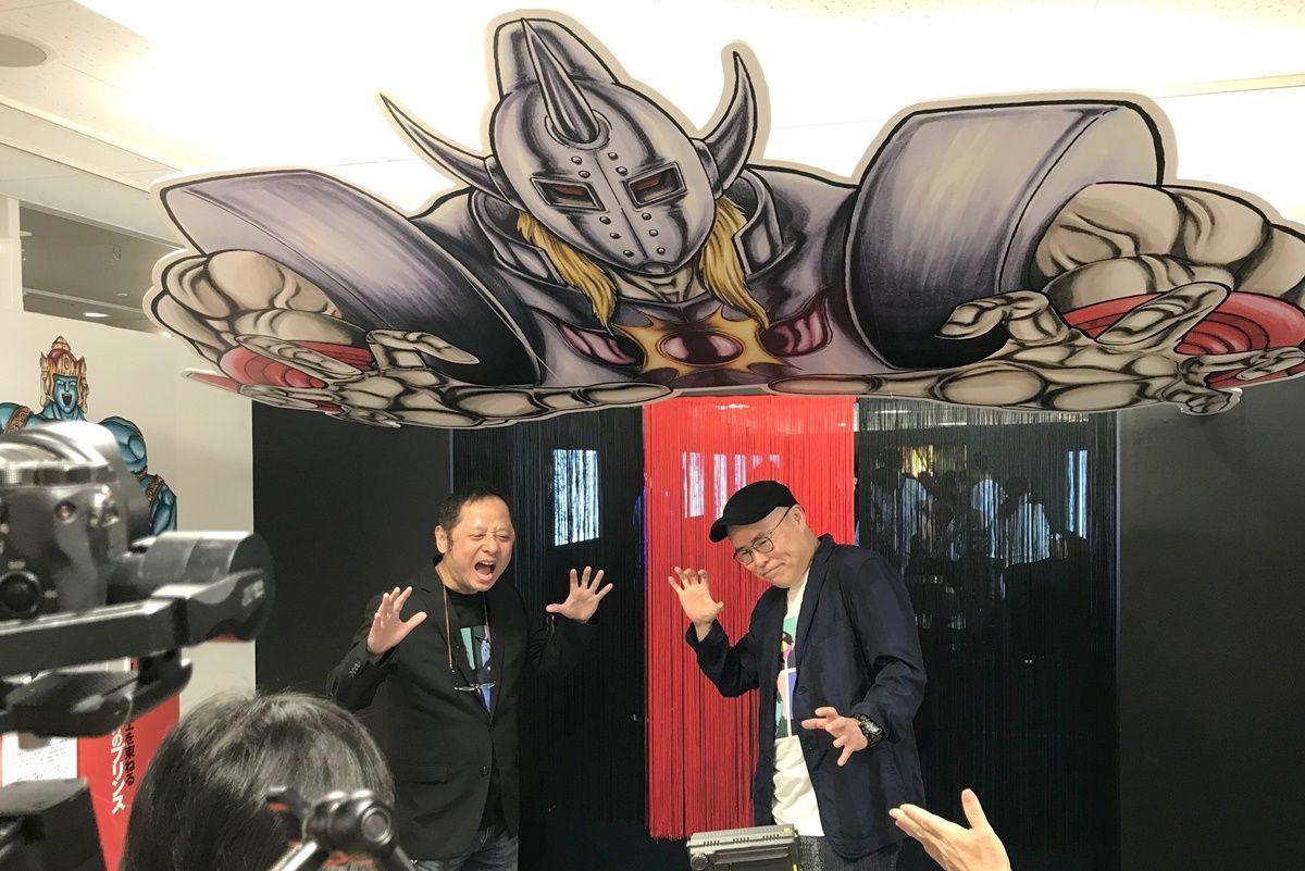 【大阪・阿倍野】あべのハルカス『キン肉マン友情の40周年展』でゆでたまご先生と遭遇!