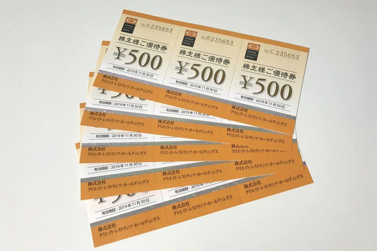 クリエイト・レストランツ・ホールディングス(3387)の株主優待でしゃぶしゃぶ食べ放題!