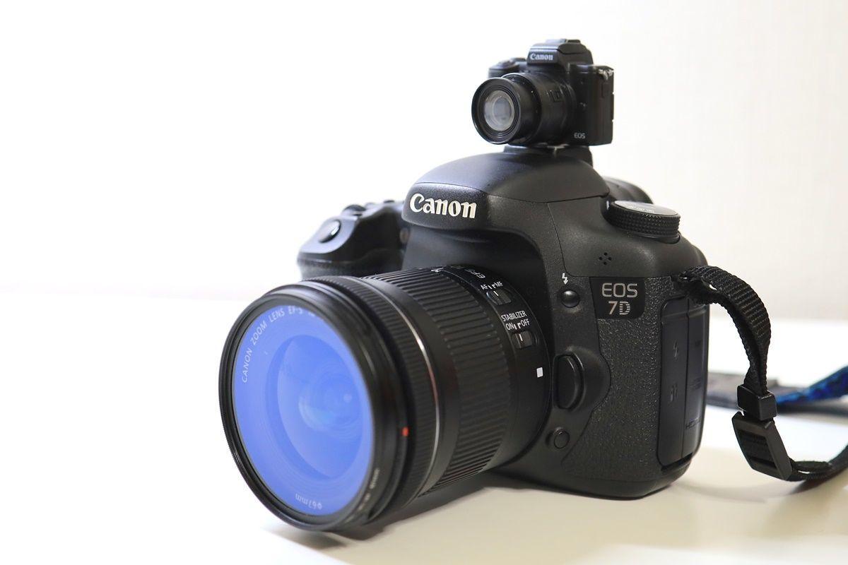 ガチャポンで一眼レフカメラ『Canon EOS Kiss M』をGET!