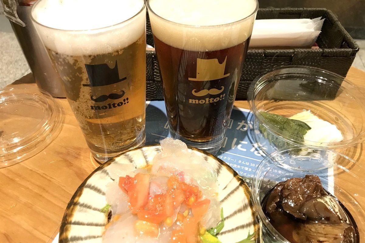 【大阪】梅田でクラフトビールをサクっと飲みたい時にオススメ!BEER STAND molto(ビアスタンドモルト)