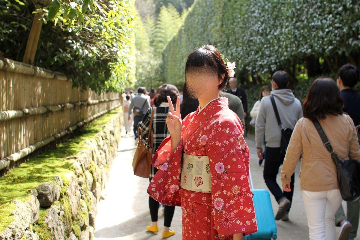 【京都】レンタル着物で街歩きデート!銀閣寺~法然院~南禅寺を散策
