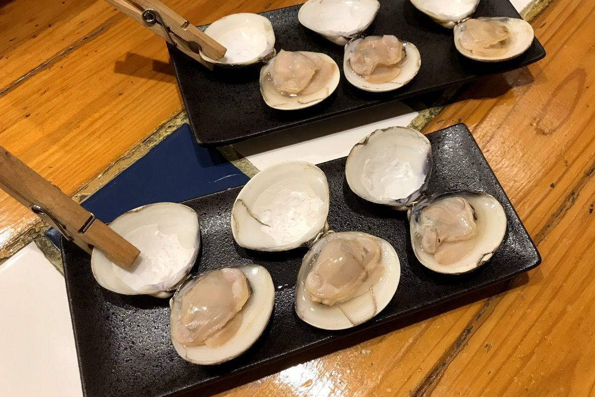 【大阪】ホワイトデーにハマグリ専門店『はまぐり酒場 笑師(えみし)』に行きました