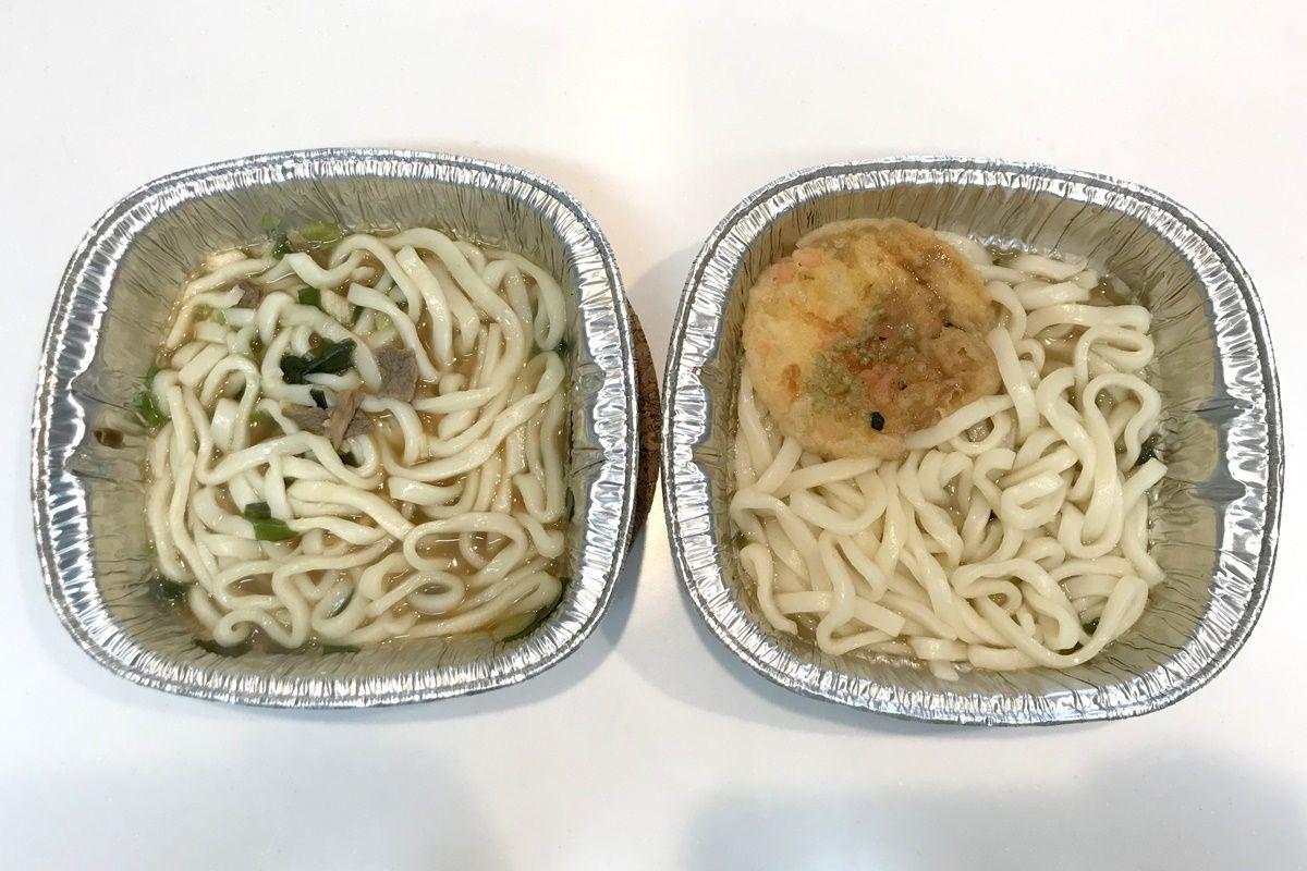 徳島製粉の『金ちゃん鍋焼きうどん』肉・天ぷら食べ比べ