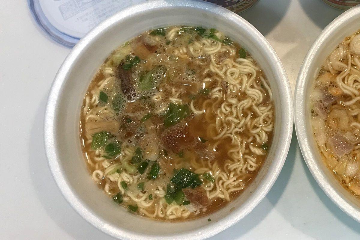 『金ちゃんラーメン』や『金ちゃんヌードル』など徳島製粉のカップ麺を食べ比べ
