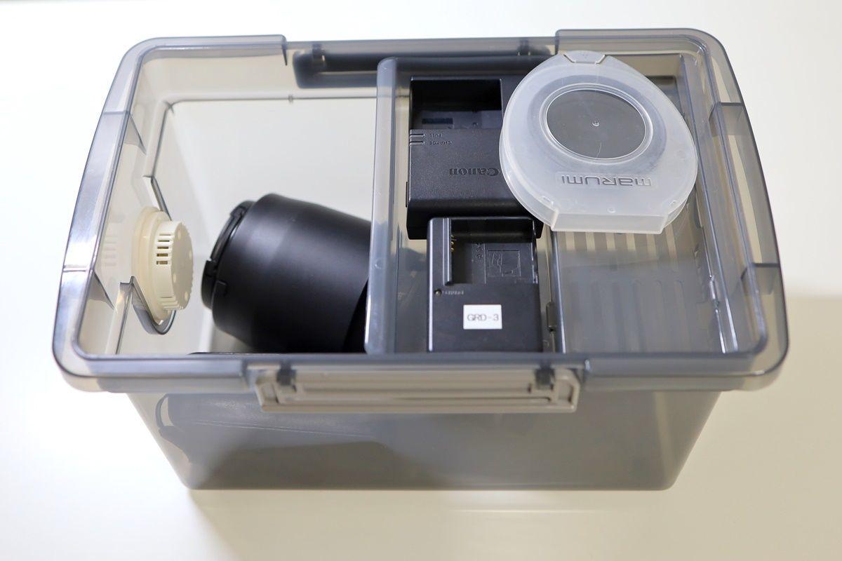 カメラ・レンズのカビ対策!モバイルドライ&ドライボックスで簡単防湿
