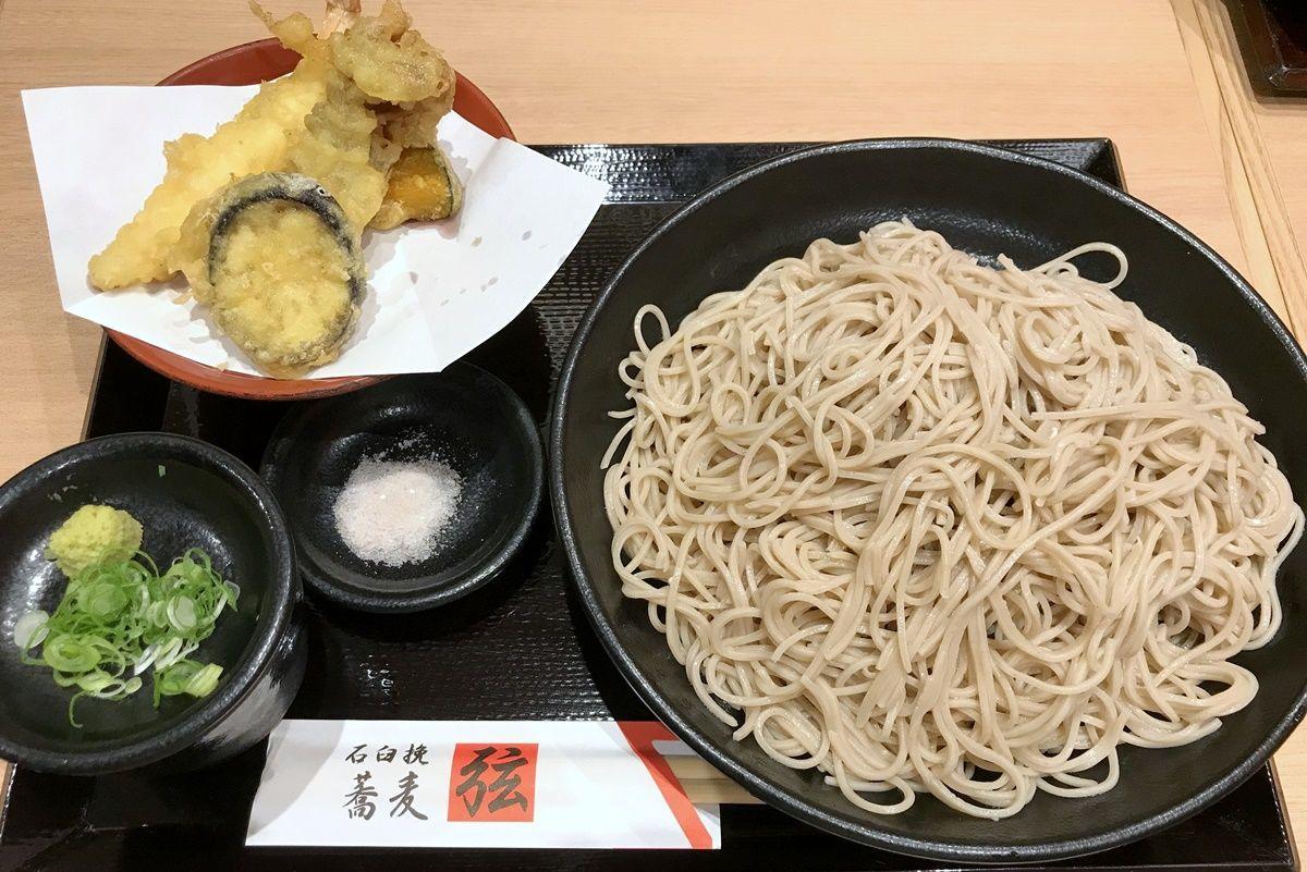 【大阪】ホワイティうめだの『蕎麦居酒屋 弦』でそばの食べ放題に挑戦