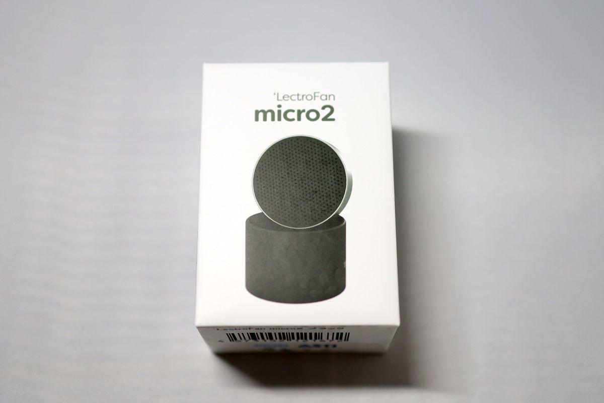 ホワイトノイズマシン LectroFan micro2(レクトロファンマイクロ2)を購入しました!