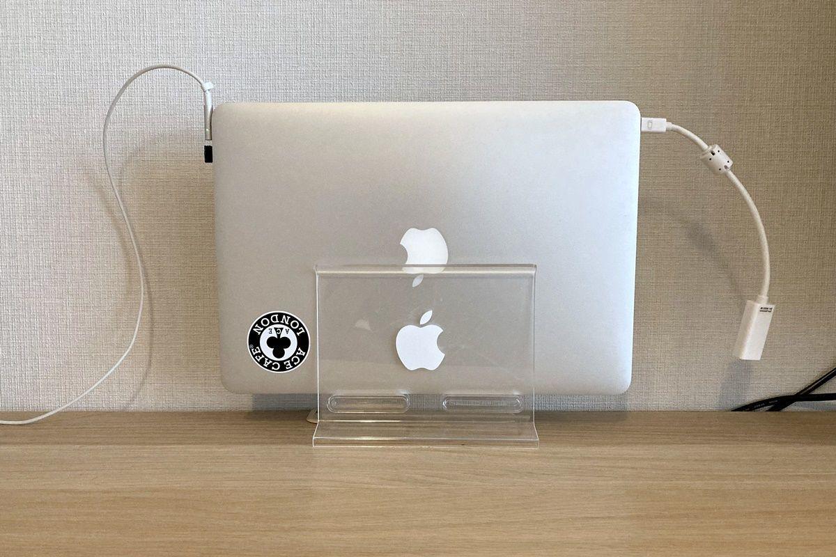 100均MacBookスタンド!100円ショップダイソーで購入