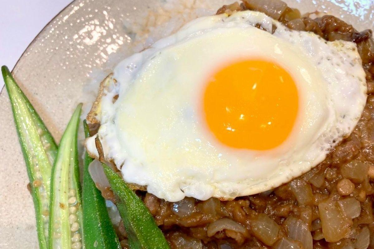 【献立・ワンディッシュ】ハウス食品『ごちレピライス』ガパオソース