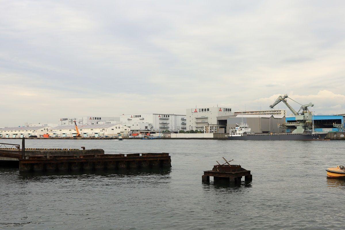 【大阪・天保山】大阪市営の渡し船で安治川を渡る