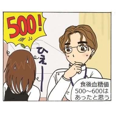 血糖値500