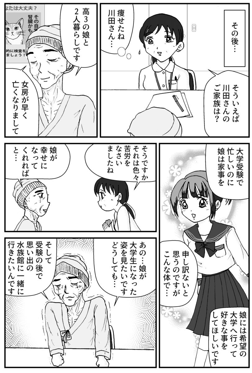 すい臓がんの漫画5P