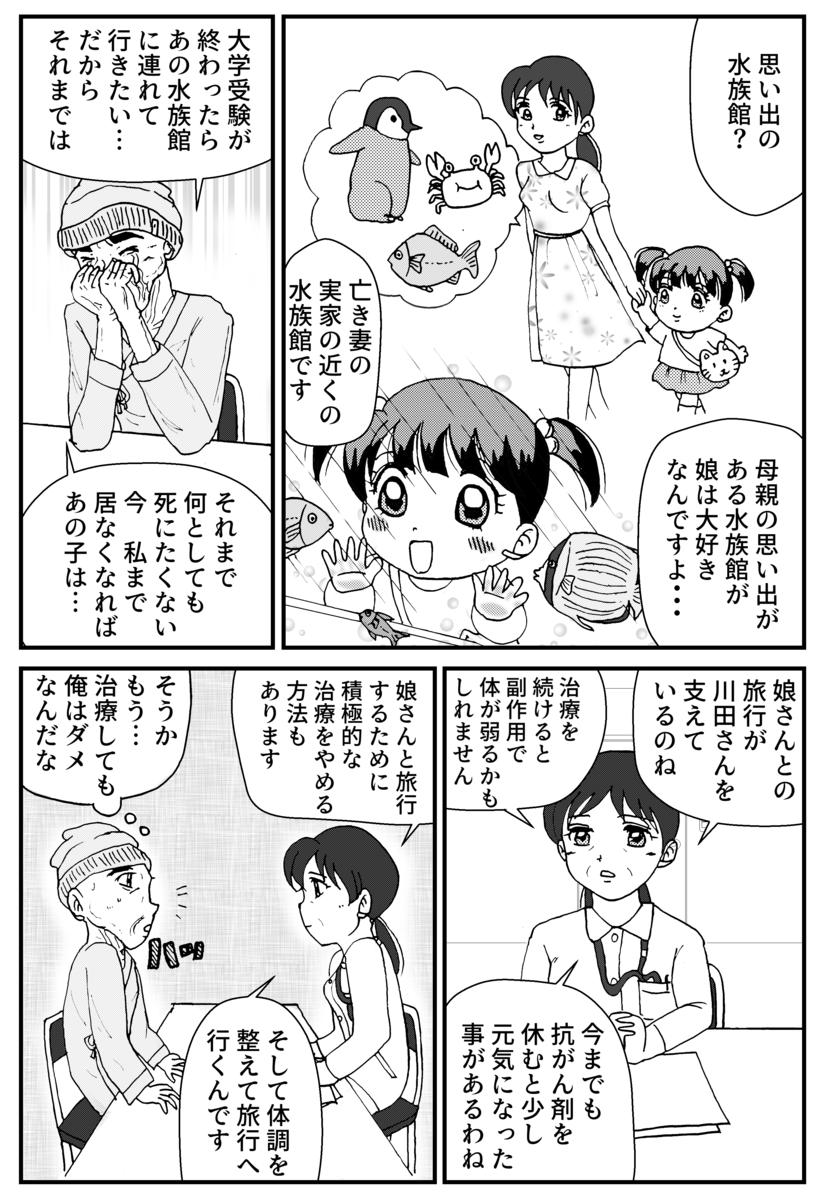 すい臓がんの漫画7P