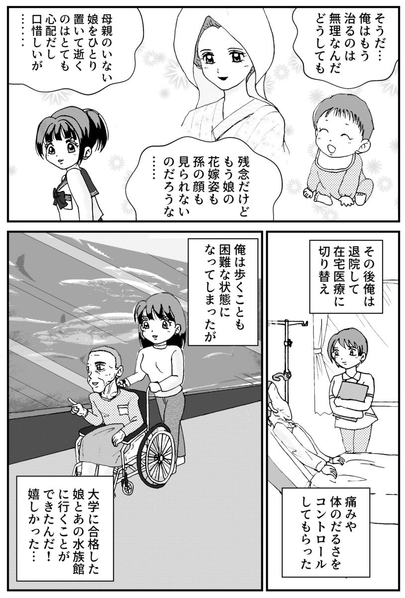 すい臓がんの漫画8P