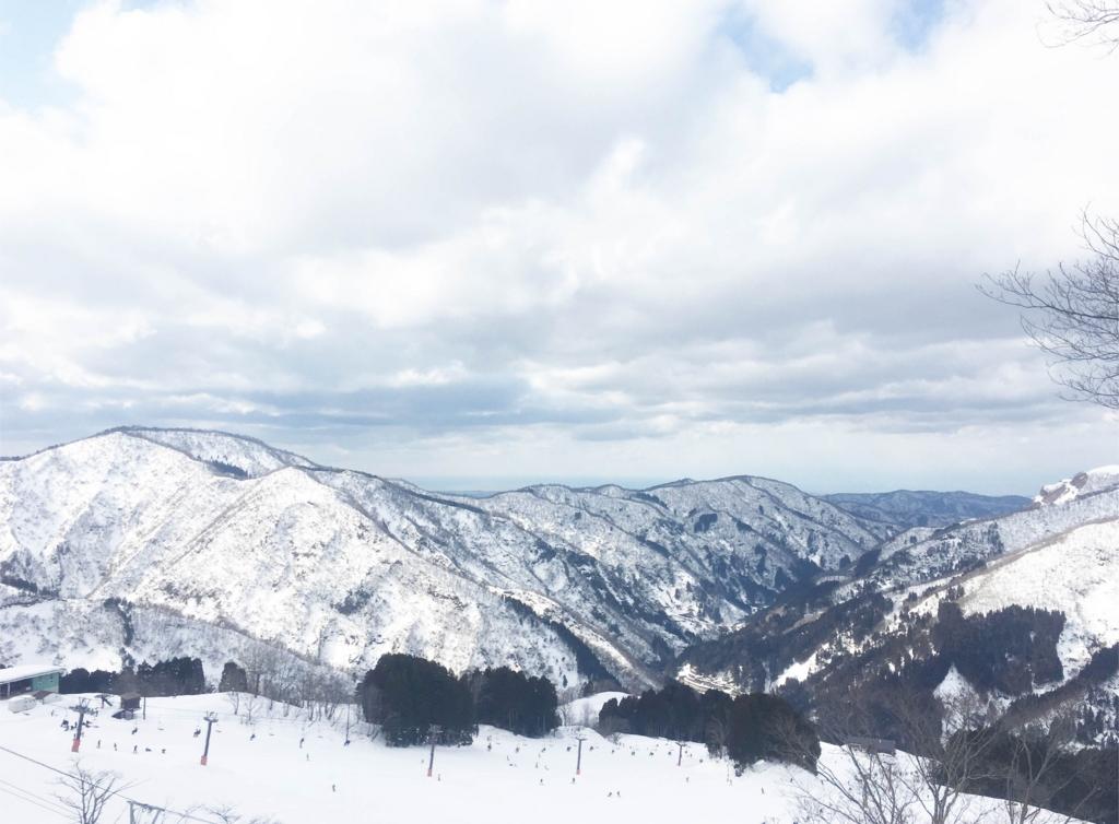 これは白山市のスキー場の写真です