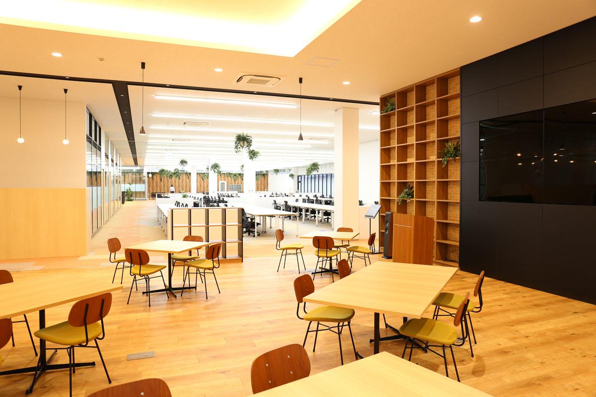 金沢事業所 フリースペース写真1