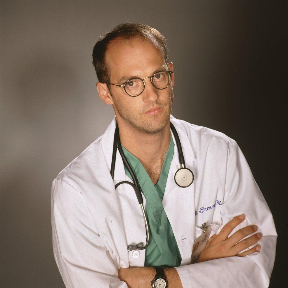 これがグリーン先生。ERは「医者を惨たらしく殺すRTA」をしているとしか思えない。