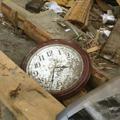 祖母の実家は全壊。時計は止まった